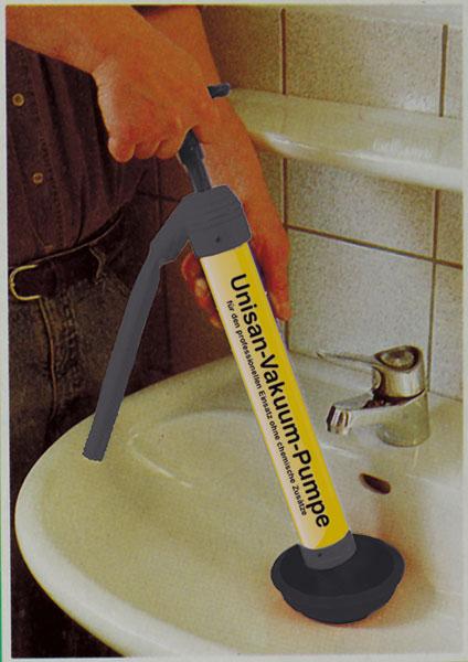 Vakuum Pumpe ohne Chemie - ohne Schmutz - ohne Strom